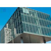 Commercial Building Aluminium Curtain Wall Visible Full Glass Curtain Wall Manufactures