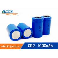 CR2 3.0V 1000mAh LiMnO2 Battery non-recharegable battery primary battery Manufactures
