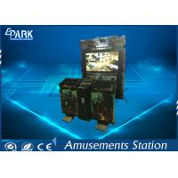 55 Inch Screen Shooting Game Machines / Arcade Games Machines Razing Storm Game Manufactures