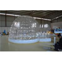 Transparent Building Of Inflatable Party Tent For Family / Backyard Manufactures