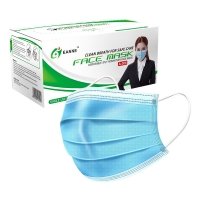 ASTM F2100 17.5*9.5cm Disposable Surgical Face Mask Manufactures