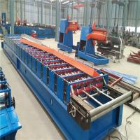 High Speed 10-15m/Min Corrugated Metal Plate Roll Forming Machine Low Noise