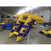 Quality agua banana boat prices fly fish inflatable sea flying fish banana boat for sale