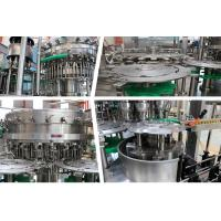 25000BPH -3000BPH High Capacity Soft Drink Bottling Line 3 In 1 Washing Filling Capping Machine For Beverage Manufactures