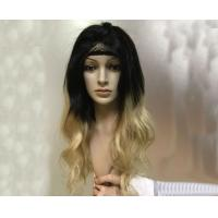 1B Blonde Full Lace Wigs Human Hair Ombre Real Hair Wigs Dark Root To Natural Black Manufactures