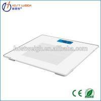 best selling ultra slim glass electronic body fat weight scale Manufactures