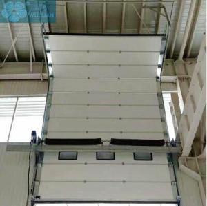 0.25m/S 0.45mm Galvanized Steel Industrial Overhead Door Manufactures