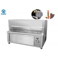 Small Scale Lip Balm Industrial Cooling Systems With Cover , Chilling Table SUS304 Manufactures
