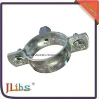 Galvanized Iron / Stainless Steel / Q235 Carbon Steel Pipe Brackets And Pipe Hanging System