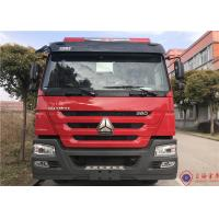 6 Seat 276kw Piston Primer Pump Water Tanker Fire Truck 6X4 Drive 85km/H Manufactures