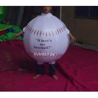 Promotion Lovely Inflatable Ball Advertising Costumes With FR rip stop nylon Manufactures