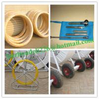 Yellow Duct Snake,Non-Conductive Duct Rodders,Fiber snake Manufactures