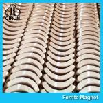 Custom Industrial Ceramic Ferrite Magnets Arc Shaped Y25 Y30 Y30BH Y35 Grade Manufactures