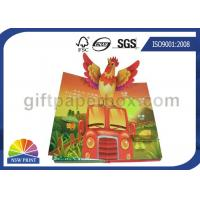 China Custom Pop Up Book Printing Services / Children Reading Book Printing for 3D Book on sale