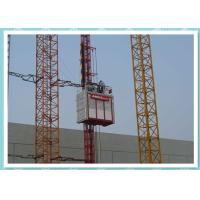 Quality Single Cage Construction Material Hoist With Middle Lifting Speed Building Hoist for sale