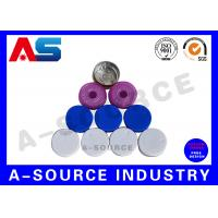 Buy cheap Custom Colored  Red Pharmaceutical Flip Off Cap For  Sterile Vials 11mm from wholesalers