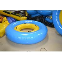 Yellow / Blue Trapualin Infalatble Water Sport Toys 2.5m / 5m For Swimming Pool Manufactures