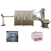 China Mineral Water PET Bottle Rising Capping Beverage Filling Machine on sale
