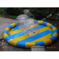 Customized multiple color Inflatable Water Pools for zorb ball Manufactures