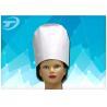 High Uniformity Disposable Chef Caps / Comfortable Medical Head Cap Manufactures