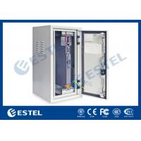 Heat Insulation Outdoor Wall Mounted Cabinet , Base Station Cabinet IP55 Manufactures