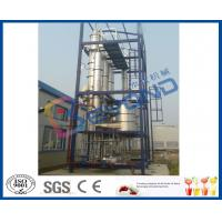 China Continuous Feeding Multiple Effect Falling Film Evaporator With CIP Cleaning System on sale