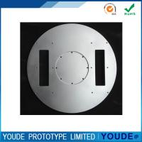 Small Amount CNC Aluminum Prototype Machining Plate With Silver Anodizing Manufactures