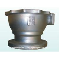Customized carbon steel water pump spare parts with JIS / BSElectrical galvanizing Manufactures