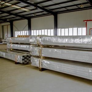 Aluminum Rigid Conduit Pipe UL6a Standard NPT Thread Haimei Manufacture Rigid Electrical Metallic Aluminum Conduit Tubin Manufactures