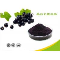 Natural Water Soluble Freeze Dried Black Currant Extract Powder Anthocyanins Manufactures