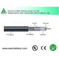 Factory best price coaxial type communication cable for cctv camera cable 1.02mm 75ohm RG6 Manufactures
