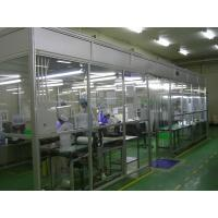 Clean Room Accessories Aluminum Positive Pressure Softwall Clean Room Top Laminar Flow Manufactures