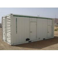 Soundproof Diesel Generator 800KVA Cummins Genset With Containerized Canopy Manufactures
