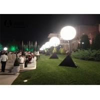 Standing Tripod Ball Inflatable Lighting Decoration / Inflatable Advertising Products Manufactures
