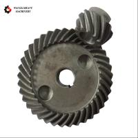 Quality Carbon Steel Forging Large Module Crown Gear Ring and Pinion Gear Set for sale
