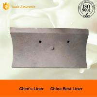 Good Wear Resistance Ball Mill Liner Plate / Steel Liners for AG Mills and SAG Mills Manufactures