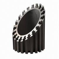 Alodine Surface Treatment Aluminum Heatsink Extrusion Profiles For Machines Manufactures
