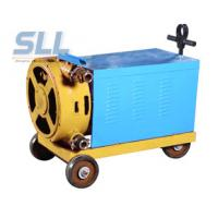 Electric Motor Grout Injection Pump High Capacity Pump Single Cylinder And Double Piston Manufactures