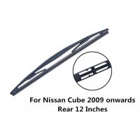 Universal Rear Wiper Blades / Natural Rubber And steel Nissan Cube Wiper Blades Manufactures