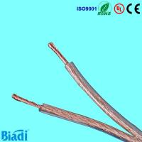 Quality Transparent speaker cable with OFC or CCA or tinned copper or CCS Conductor for sale