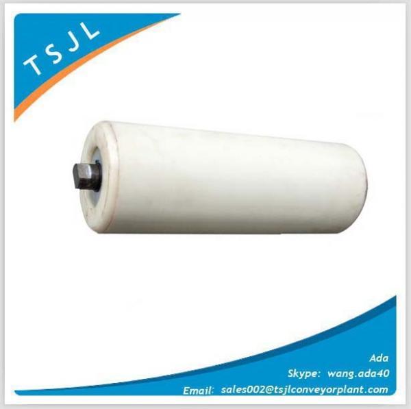 Quality ISO HDPE Plastic Nylon Idler Roller of Belt conveyor for mining coal power for sale