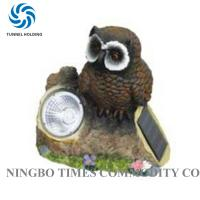 Quality Professional Stone Solar Lights 3500K - 5500K Owl Solar Lights For Garden for sale