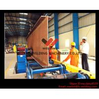 Lifting Motorized Conveyor Flange H Beam Straightening Machine Mechanical / Hydraulic Type Manufactures