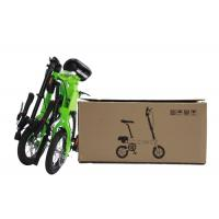 """Two Wheels Inflated Tyre Folding City Bike, 12"""" Size Lightest Folding Bike Manufactures"""