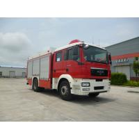 Multi Functional Motorized Fire Truck Road Max Speed 90KM/H Wheelbase 5100mm Manufactures