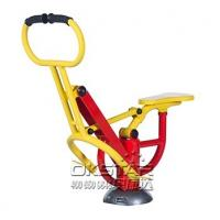 China good quality hot sale cheap galvanized outdoor fitness trainer rider Manufactures
