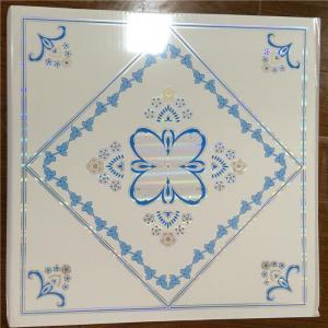 Plastic Suspended Ceiling Tiles , Pvc Decorative Ceiling Tiles Sound Proof Manufactures