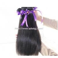 Natural straight unprocessed wholesale chinese human hair 100 chinese remy hair extension Manufactures
