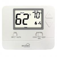ABS+PC Material Single Stage Digital Thermostat For Electric Heat Manufactures