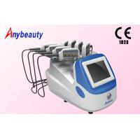 8 Treatment Heads Diode Lipo Laser Slimming Machine Color Touch Screen 1 - 30Hz Manufactures
